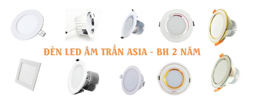Đèn LED âm trần ASIA chính hãng