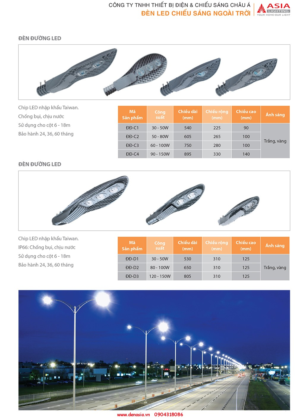 CATALOG - ĐÈN LED ASIA-19