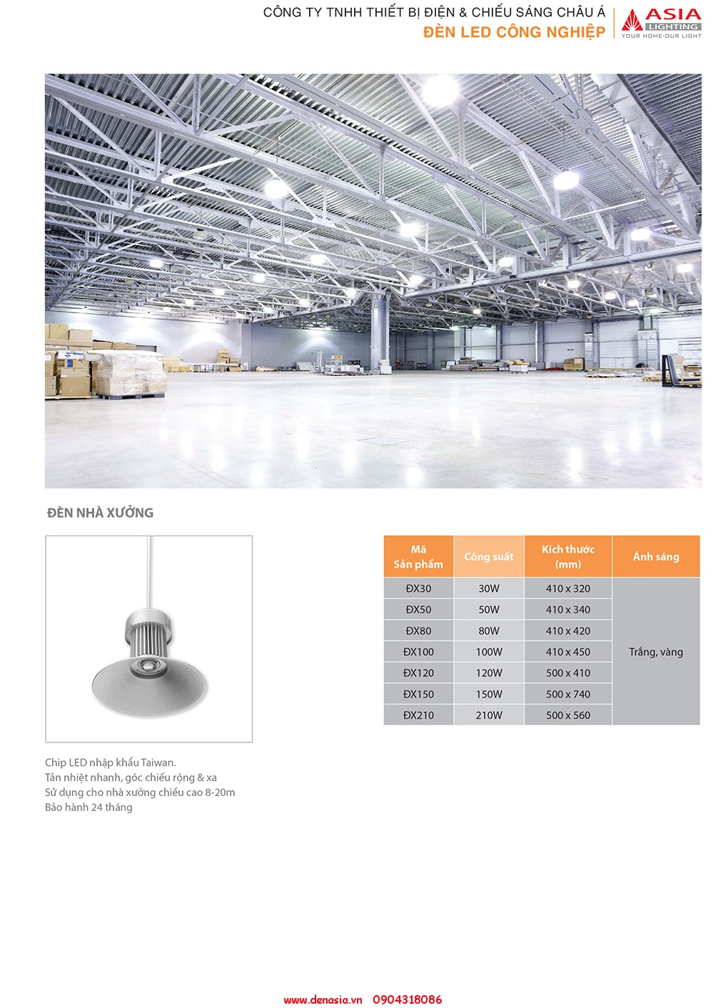 CATALOG - ĐÈN LED ASIA-17
