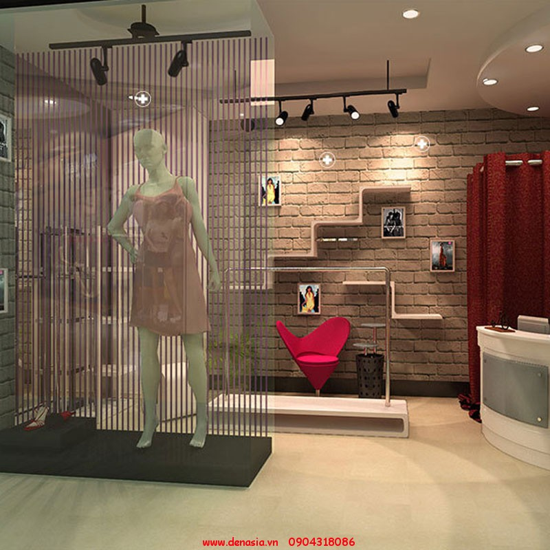 Đèn LED rọi ray ASIA Chiếu sáng các showroom, cửa hàng.