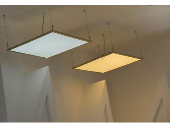 Lắp đặt đèn Panel tấm LED dạng treo thả
