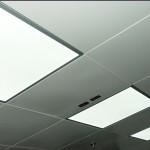 Lắp đặt đèn LED Panel cho trần thạch cao tấm