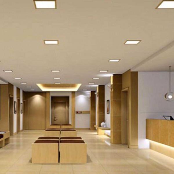 Lắp đèn Đèn Panel tấm LED cho trần thạch cao liền