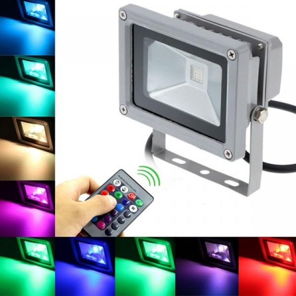 đèn pha đổi màu RGB led
