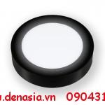 Đèn-led-ốp-nổi-tròn-vỏ-đen-ánh-sáng-trắng6w