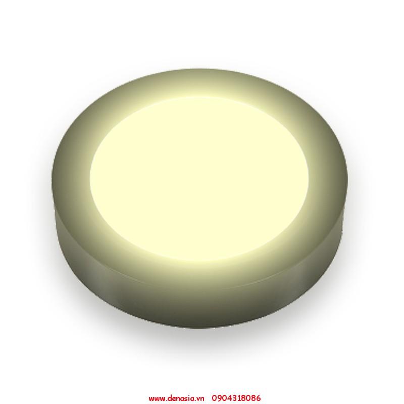 Đèn-led-ốp-nổi-tròn-vỏ-đen-ánh-sáng-vàng-12w