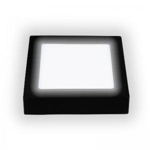 Đèn-led-ốp-nổi-vuông-đen