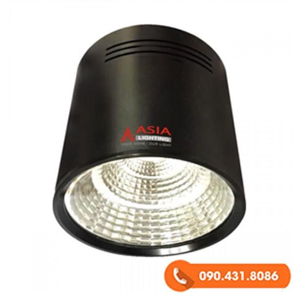 Đèn trần nổi LED (Đèn ống bơ LED) 10W vỏ đen