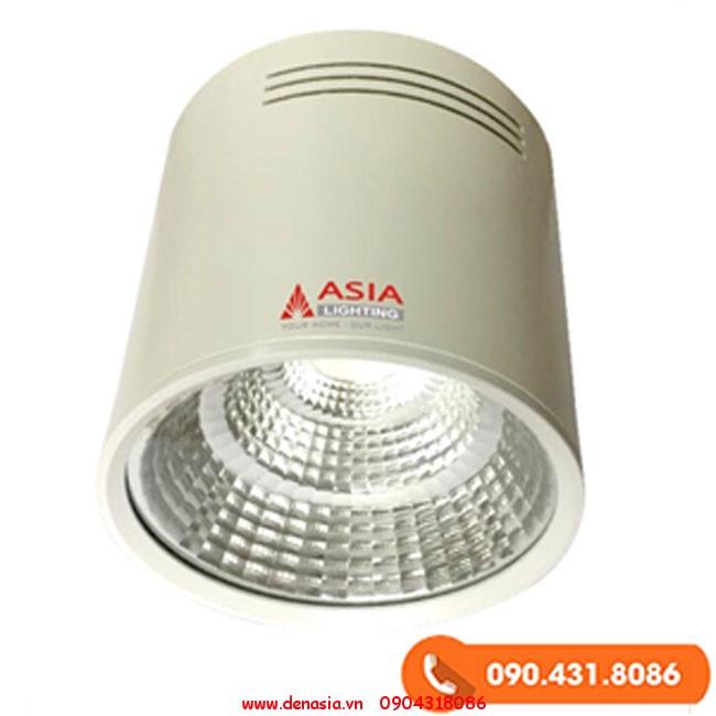 Đèn trần nổi LED (Đèn ống bơ LED) 10W vỏ trắng
