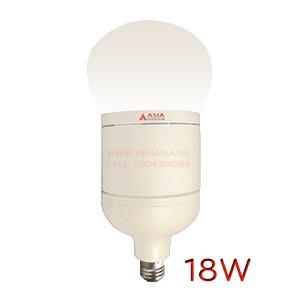 Bóng LED tròn công suất cao góc sáng rộng 18W