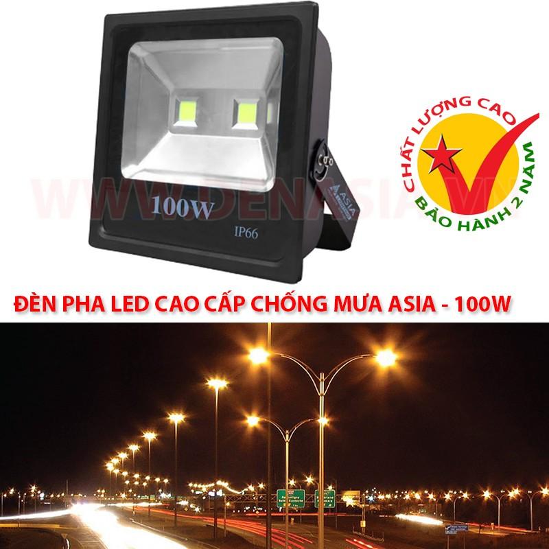 Đèn pha LED cao cấp ASIA chiếu sáng đường