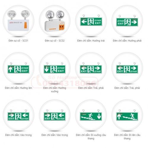 Đèn sự cố Chiếu sáng khẩn cấp Exit LED