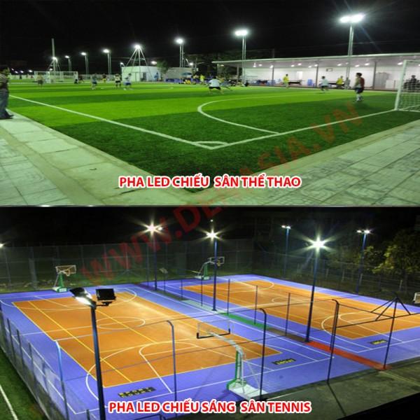 Đèn pha LED cao cấp ASIA chiếu sáng sân bóng, sân tennis