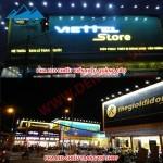 Đèn pha LED ASIA chiếu sáng biển hiệu quảng cáo